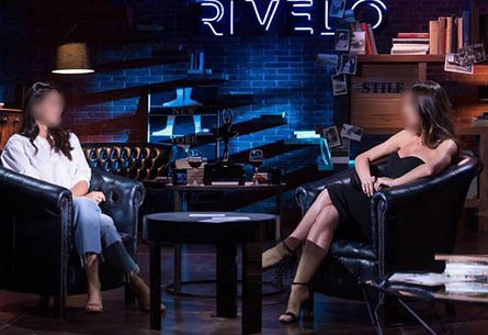 Set Byron Blue per 'Rivelo' su RealTime Tv - Inverno 2020