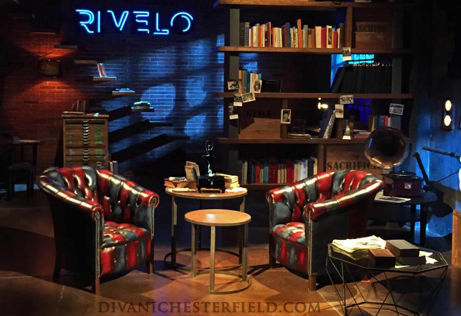 Arredo con Harleq Devil Blue Byron, Realtime - Estate 2019