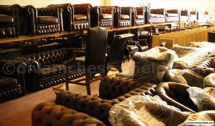 Divani poltrone chesterfield nuovi vintage vendita noleggio