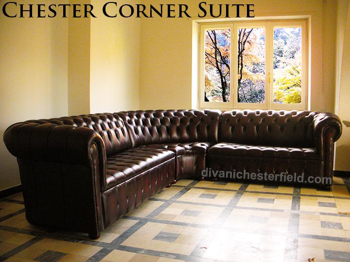 Divano chesterfield angolare divano chester ad angolo su for Chester angolare