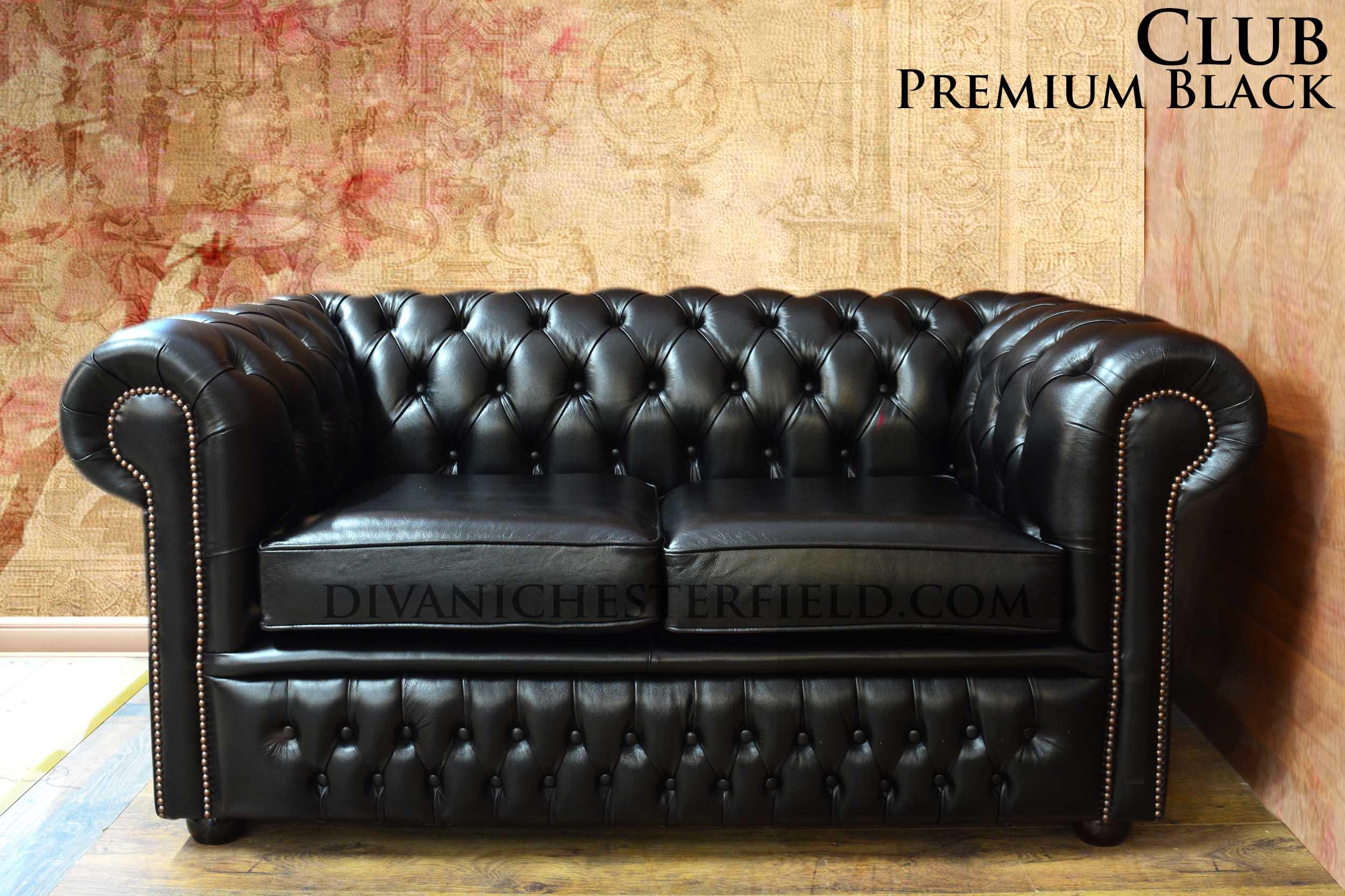 Divano chesterfield club nuovo originale inglese - Rottamazione divano usato ...