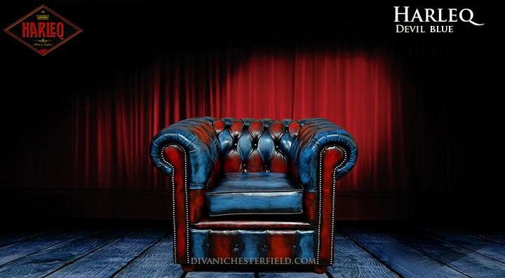 Divano chesterfield vintage patchwork blu e rosso nuovo for Divani nuovi