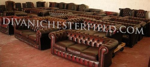 Poltrona Chesterfield Usata.Divani Chesterfield Usati Pelli Vintage Originali Inglesi