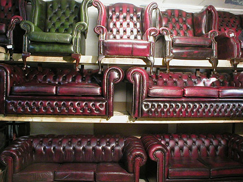 Divani Chesterfield Originali Inglesi.Divani Chesterfield Usati Pelli Vintage Originali Inglesi