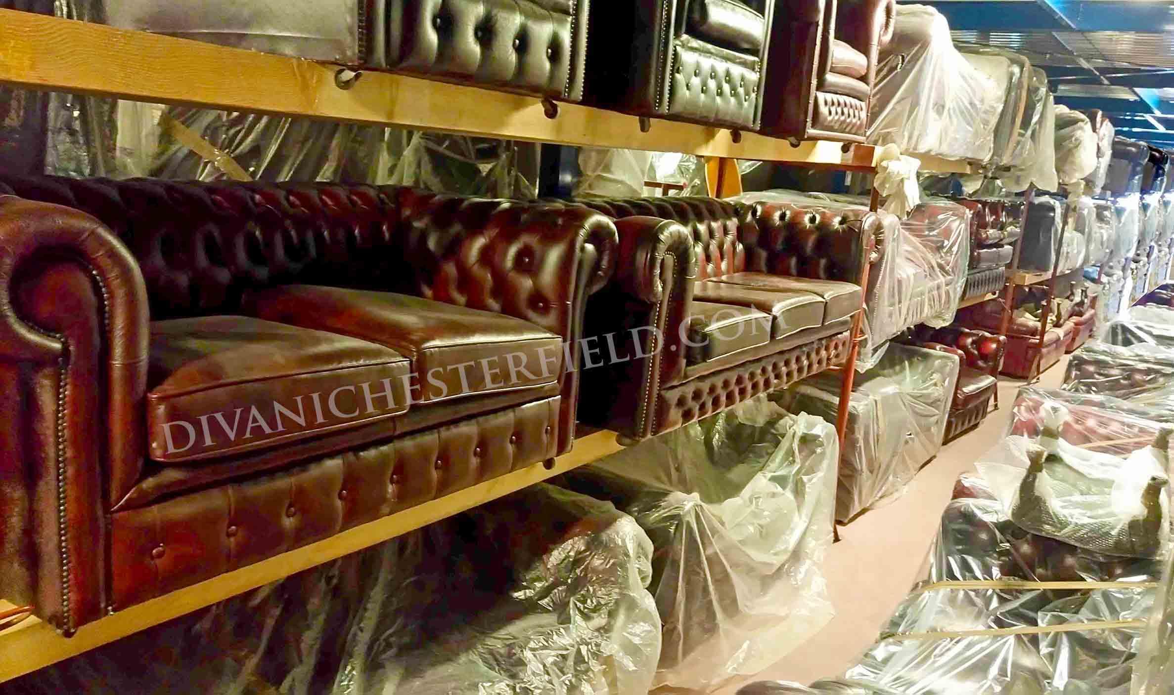 Divani chesterfield usati   divano chester usato vintage in pelle ...