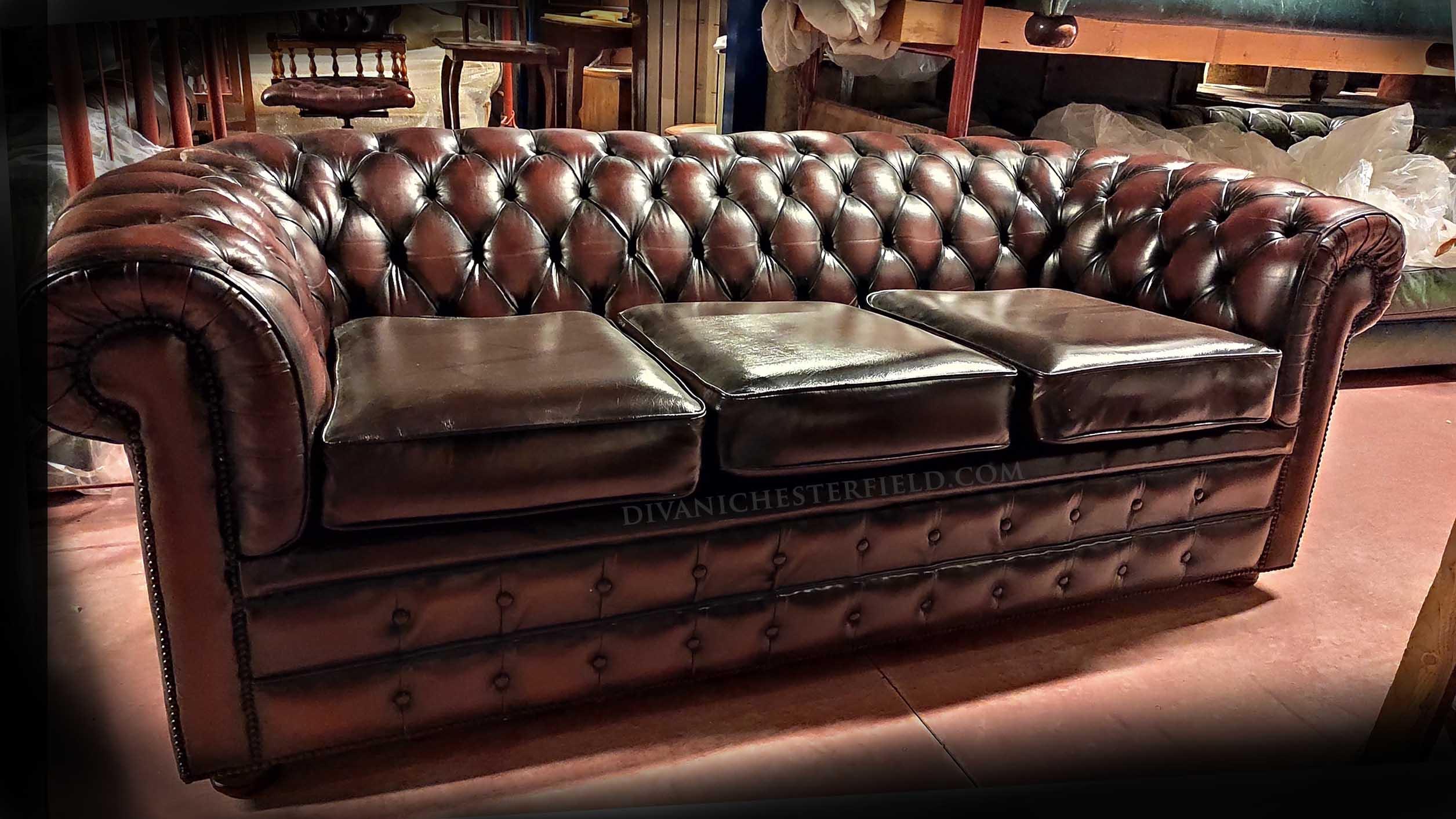 Divani Chesterfield Originali Inglesi.Divani Originali Inglesi Divano Originale Inglese Churchill Collins