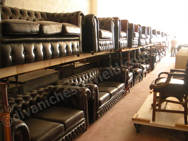 vendita roma divani chester magazzino