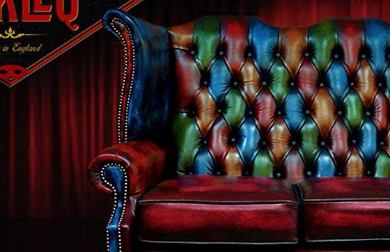 Divani chesterfield nuovi originali inglesi in pelle for Divano queen