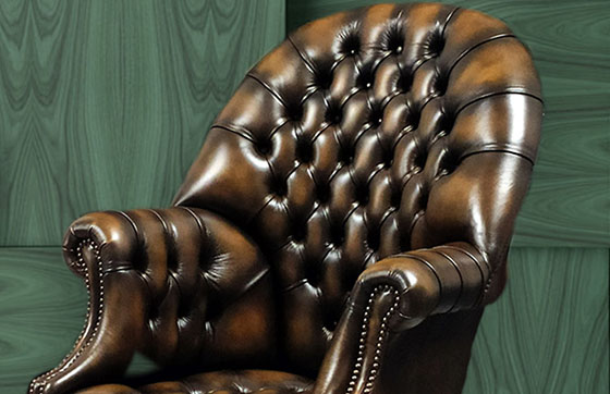 poltrona chesterfield director