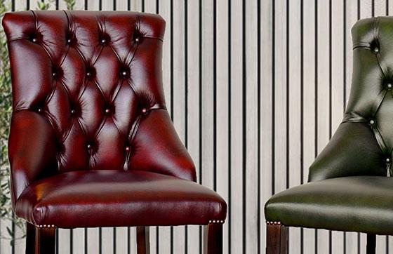 Poltrone chesterfield ufficio direzionali in pelle nuove - Poltrone in pelle chesterfield ...