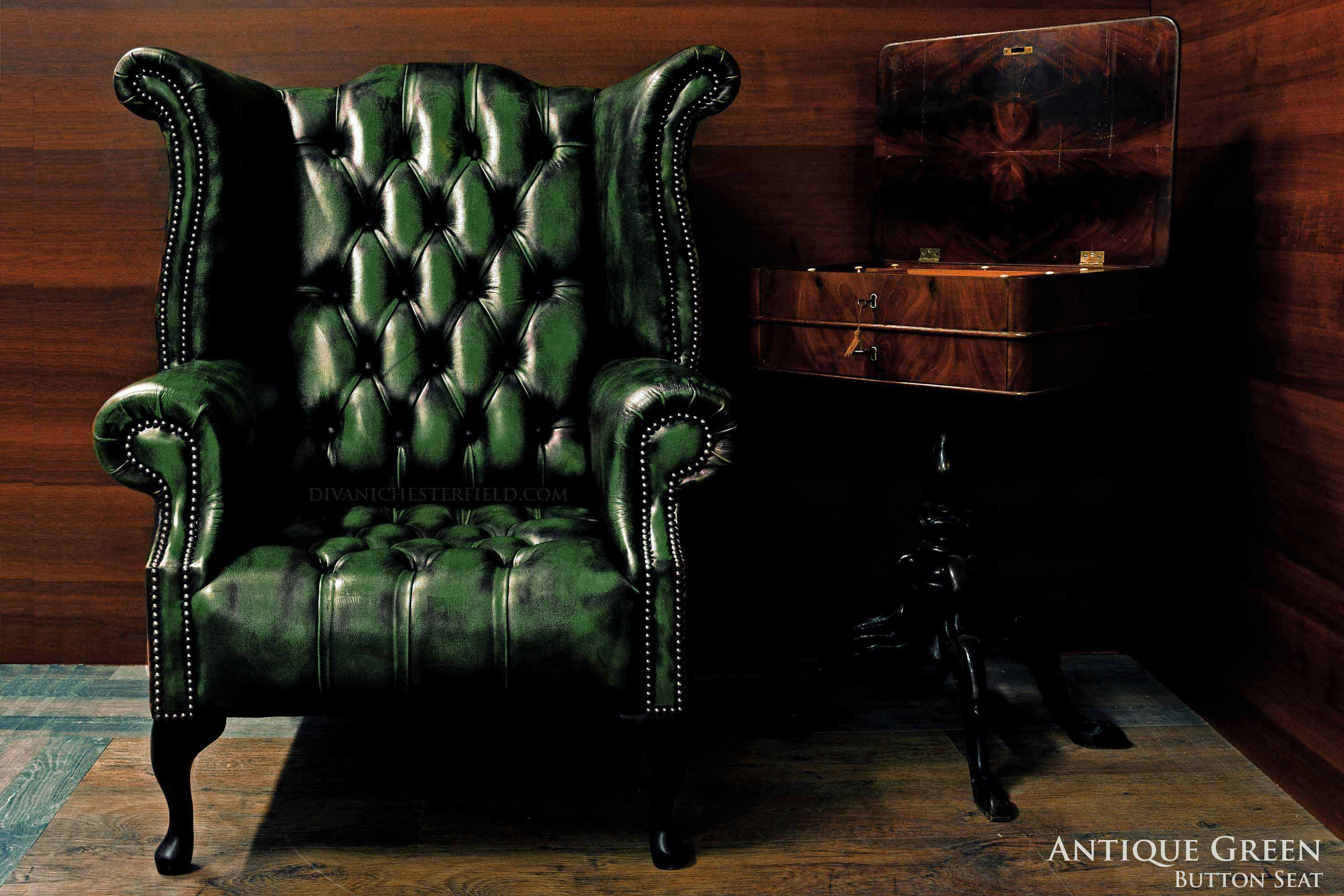 Poltrone Chesterfield Prezzi.Poltrona Chesterfield Queen Anne Chester In Pelle Originale