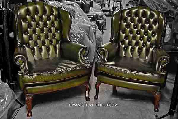 Poltrone Usate In Pelle.Poltrone Chester Usate Pelle Vintage Originali Vendita Noleggio