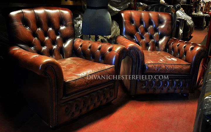 Divani chesterfield poltrone chester nuovi e vintage